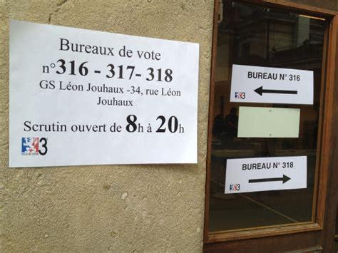 bureau de vote lyon législatives tous les horaires des bureaux de vote dans