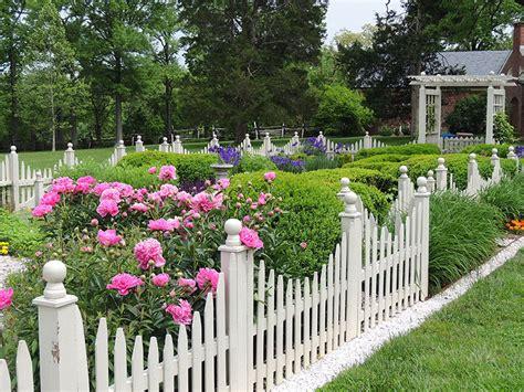 picket fence landscaping white picket fence the good life garden walk garden talk