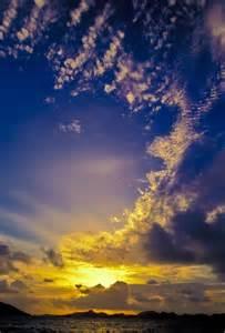 British Virgin Islands Sunset