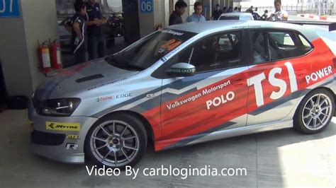 volkswagen polo  cup  racing car test drive review
