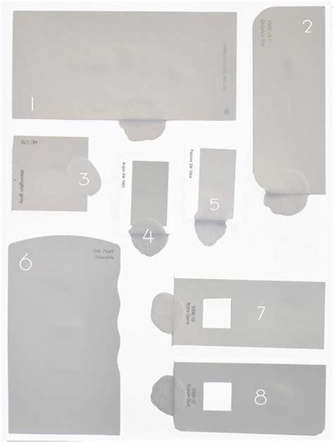 1 cement grays no color in the undertones 2 warmer