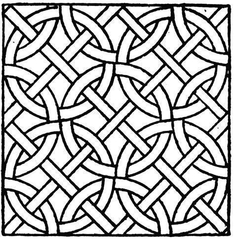 roman mosaic circle pattern clipart