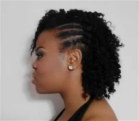 coiffure tresse cheveux afro