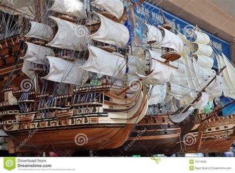 model sailing ships ho chi minh city vietnam editorial