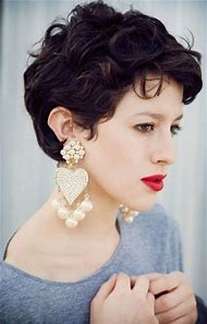 Short Hairstyles for Thick Curly Hair Women