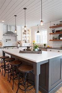 25 awe inspiring kitchen island ideas blending beauty with With what kind of paint to use on kitchen cabinets for big car stickers