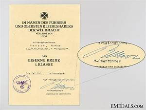 four award documents to the ss pz grenrgt5 totenkopf With documents 5 ss