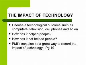 bad effects of technology on society