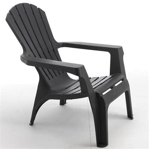 fauteuil de jardin en r 233 sine adirondack gris wilsa garden