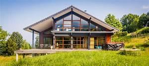 Chalet De Jardin Contemporain : chalet montagne contemporain fa ade grenoble par ~ Premium-room.com Idées de Décoration