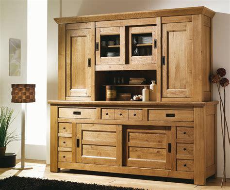 meuble de cuisine en bois pas cher buffetbahut rustique en pin massif collection et meuble