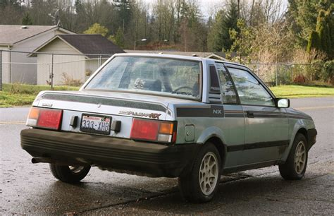 Datsun Pulsar by Parked Cars Two For Tuesday 1984 Datsun Nissan