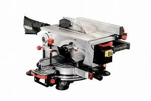 Scie Sur Table Metabo : kgt 305 m 619004000 scie onglets et scie circulaire de ~ Dailycaller-alerts.com Idées de Décoration