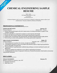 chemical engineering resume and engineering on pinterest With chemical engineer resume template