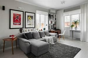 Wohnzimmer Accessoires Bringen Leben Ins Zimmer : 1001 sofa grau beispiele warum sie ein sofa genau ~ Lizthompson.info Haus und Dekorationen