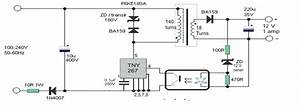 12 V Mains Smps Circuit
