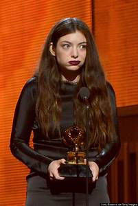 Lorde Made This Face When She Won A Grammy | HuffPost