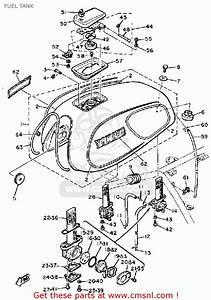 Yamaha Xs1100 H 1981 Fuel Tank