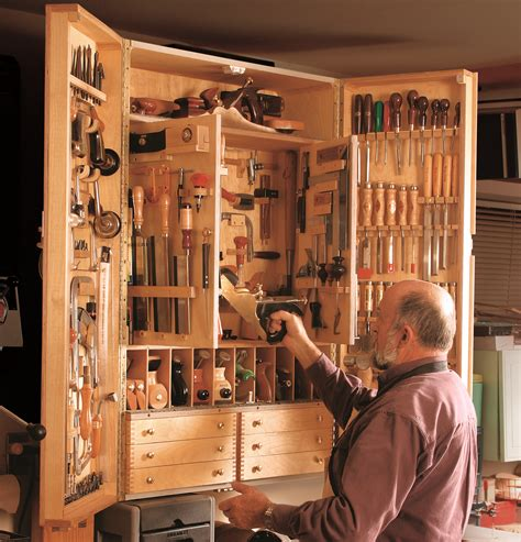 Tool Storage Cupboard by Tool Storage Find A Safe Place Startwoodworking
