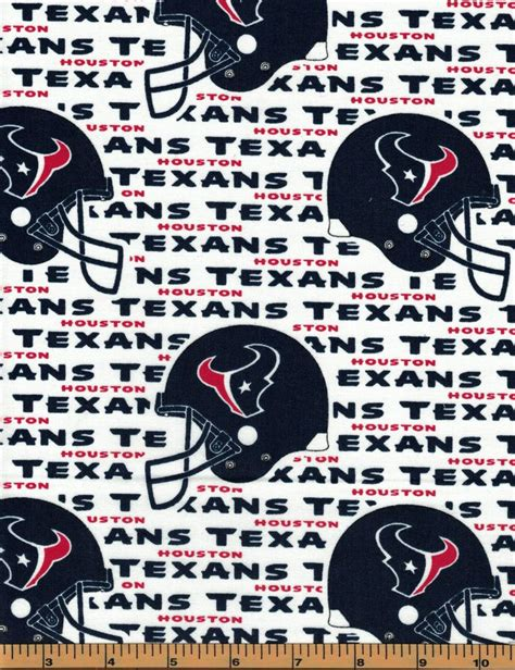 Houston Texans | NFL Football Fabric|100% Cotton | by the ...