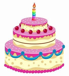Happy Birthday Cartoon Cake