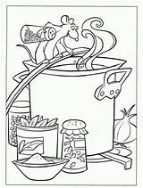 Coloring Ratatouille Soup Pages Stone Coloriage Disney Sheets Printable Imprimer Template Chili Fun Cooking Colouring Abc Adult Vegetable Dessin Coloriages sketch template