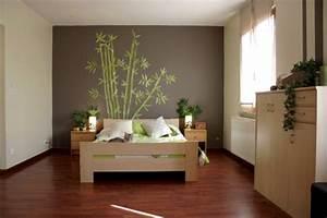 chambre zen harmonie complete dans la chambre a coucher With couleur pour une chambre zen