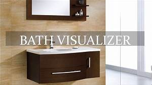 visualizers create your dream kitchen bathroom With bathroom visualizer