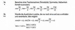 Sinus Cosinus Berechnen : cosinus ohne taschenrechner cos tan sin berechnen ~ Themetempest.com Abrechnung