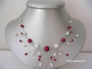 bijoux mariage bordeaux collier perles emotion With robe mariage avec collier perle pas cher pour mariage