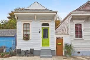 New Orleans Shotgun House Kitchen
