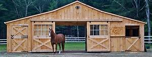 horse barns prefabricated barns horizon structures With 4 stall horse barn cost