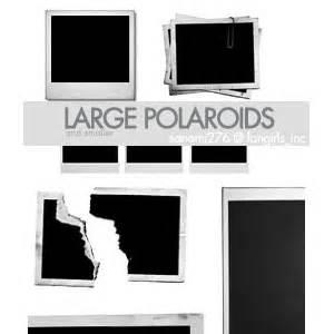large polaroid brushes photoshop brushes