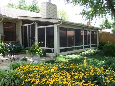 mid century modern home exterior in springfield patio
