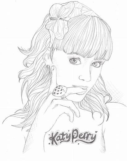 Katy Perry Kleurplaten Kleurplaat Colorear Dibujos Coloring