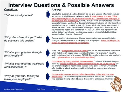 Questions Strengths And Weaknesses Exles by Feb2013 130109154031 Phpapp01