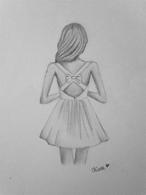 Cool Easy Girly Drawings Simple Cute Girly Drawings - Drawing Of Sketch - Drawings Inspiration