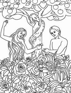 Pin by Debbie Hathcock on Bible coloring | Adam, eve ...
