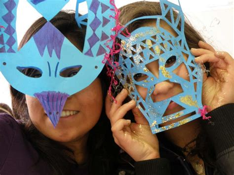 ladari fai da te riciclo maschere di carnevale riciclo creativo foto mamma