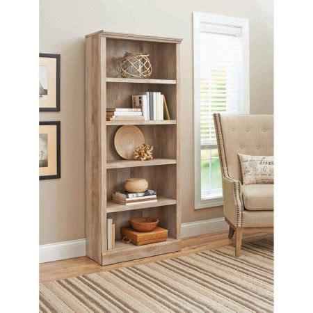 better homes and gardens crossmill 5 shelf bookcase