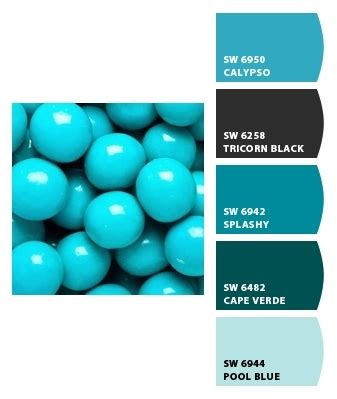 azure blue sherwin williams paint color schemes azure