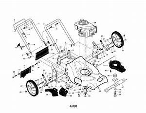 917 371722 Craftsman Lawn Mower 160cc Honda Engine 21 Inch