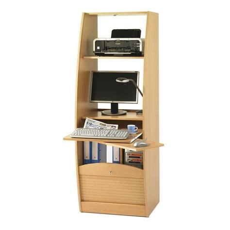 bureau largeur 40 cm armoire informatique galbee largeur 60 cm beaux meubles