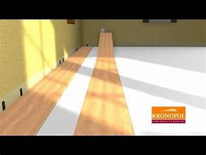 Jak položit plovoucí podlahu na podlahové topení