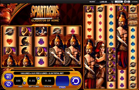 Play Spartacus Free Slot