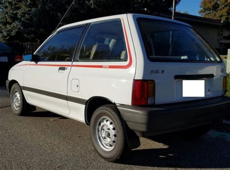 ford festiva survivor  chevette omni  horizon