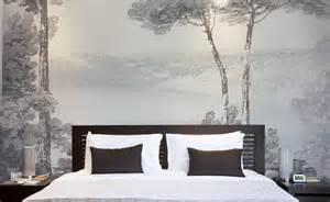 Papier Peint Chambre by Bed Head Wallpaper Papiers De Paris