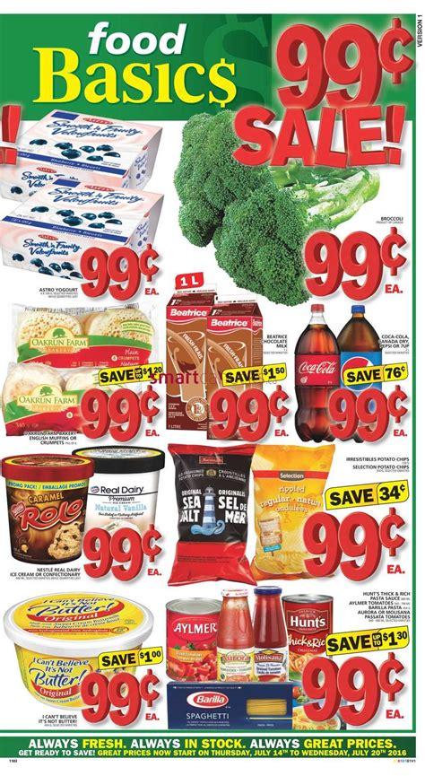 basics of cuisine food basics canada flyer july 14 to 20 food basics flyer