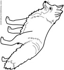 HD wallpapers coloring pages arctic fox