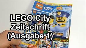 Lego City Magazin : lego city magazin ausgabe 1 mit zwei minifiguren ~ Jslefanu.com Haus und Dekorationen